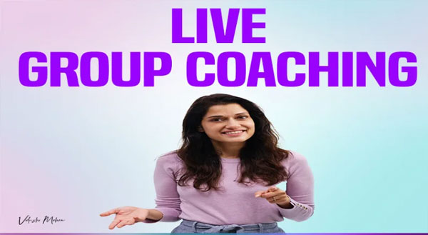 Acting Live group Coaching with Vidushi Mehra