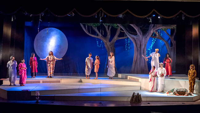 UNDER THE GYPSY MOON play review