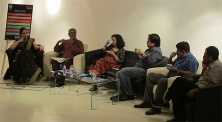 The Masters panel discussion at the Kala Ghoda Arts Festival 2014
