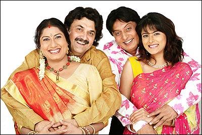 HAIYA NI HERAPHERI Gujarati Play/Drama - www MumbaiTheatreGuide com
