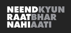NEEND KYUN RAAT BHAR NAHI AATI Hindi Play/Drama - www