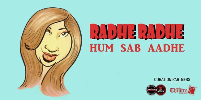 RADHE RADHE HUM SAB AADHE Hindi Play/Drama - www