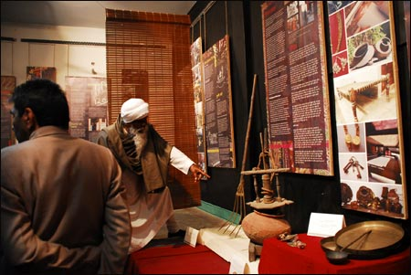 Studio Safdar converted into a museum of local history of Shadi Khampur